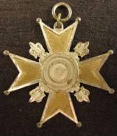 M01424 Tir Schot Schuss E.K.E.O.O. Croix Allemagne Ou Autriche Ou Suisse (16 G.) - Jetons & Médailles