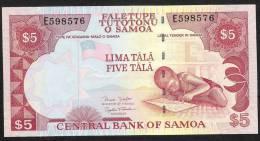 SAMOA   P33b   5   DOLLARS    2002    UNC. - Samoa