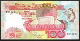 SEYCHELLES  P35   100  RUPEES   1989    UNC. - Seychelles