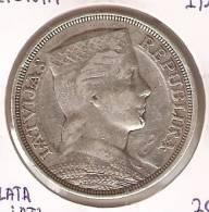 MONEDA  DE PLATA DE LETONIA DE 5 LATI DEL AÑO 1929   (COIN) SILVER - ARGENT. - Lettonie