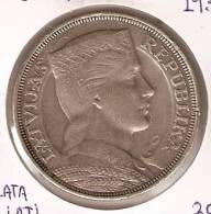 MONEDA  DE PLATA DE LETONIA DE 5 LATI DEL AÑO 1931   (COIN) SILVER - ARGENT. - Letonia