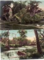 2 Cpa Chromo De Paysages Bucoliques  (16.19) - Peintures & Tableaux