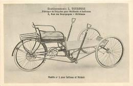 Themes Div- Ref E960- Ets L Tournois A Orleans - Loiret - Santé -fabrique De Tricycles Pour Vieillards Et Infirmes   - - Cartes Postales