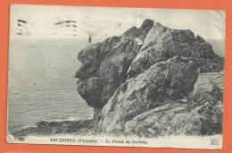 E404, La Pointe Du Corbeau, 1 Pli Non Visible, 935, Circulée 1919 - Locquirec