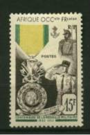 AOF Afrique  N°46  Neuf  **  Cote Y & T  12,00 Euro Au Quart De Cote