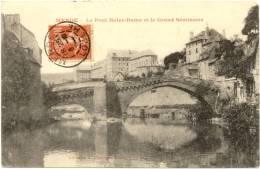48/CPA - Mende - Le Pont Notre Dame Et Le Grand Séminaire - Mende