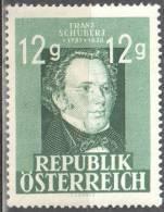 Austria 1947 - Famous People - Mi.801 -  MNH (**) - 1945-60 Nuevos & Fijasellos