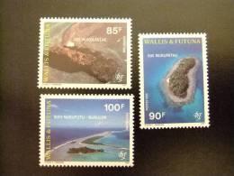 WALLIS ET FUTUNA WALLIS Y FUTUNA 1995 VUES DU LAGON VISTAS AEREAS DE ISLAS Yvert & Tellier Nº 473 / 475 ** MNH - Wallis Y Futuna