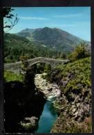 H446  Valle Vigezzo Pittoresco (Verbania) - Il Ponte Del Maglione A Re - Fotoedizioni Millecolor - Pont, Bruch, Bridge - Italia
