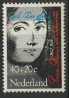 Nederland Netherlands Pays Bas 1978 Mi 1115 ** Anna Maria Van Schurmann (1607-1678) German-Dutch Painter, Engraver, Poet - Beroemde Vrouwen