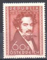 Austria 1950 - Famous People  Mi.948 -  MNH (**) - 1945-60 Nuevos & Fijasellos