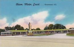 South Carolina Greenwood Dixon Motor Court - Greenwood