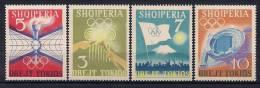 ALBANIA, YVERT 685/688**, TEMA DEPORTES, JUEGOS OLÍMPICOS DE TOKIO - Summer 1964: Tokyo