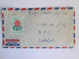 LIBERIA COVER TO BBC LONDON 1965 Era BEYROUTH POSTMARK - Liberia