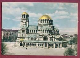 A11990 / Sofia - The Alexander Nevsky Cathedral  ,  Bus Autobus Omnibus - Bulgaria Bulgarie Bulgarien Bulgarije - Bulgarie