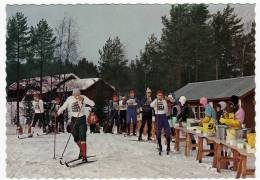 DALARNA - VASALOPPET - MATKONTROLLEN I MANGSBODARNA - DALECARLIA - SWEDEN - THE VASA SKI RACE - 1973 - Vedi Retro - Sports D'hiver