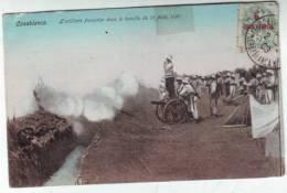 CPA   Casablanca Campagne Maroc Artillerie - Cartes Postales