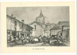 Histoire, HIstoire Du Peuple Français  - Un Marché En 1835 - FdP France : € 1.40 - Altre Collezioni