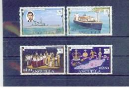 ANGUILLA  , 1977 , ** , MNH , Postfrisch , Mi.Nr. 269 - 272 - Anguilla (1968-...)
