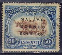 Kedah 1921 - Exibition 50 C.   (g3139) - Kedah