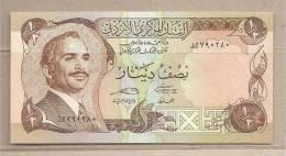 Giordania - Banconota FDS Da 1/2 Dinaro - Giordania