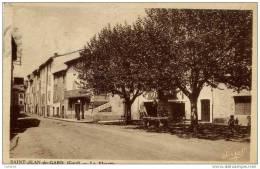 30 SAINT-JEAN-DU-GARD - La Placette - Garage, Pompe à Essence - Saint-Jean-du-Gard