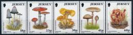 Jersey Mushrooms Pilze Set (5) °BM0515 MNH - Pilze