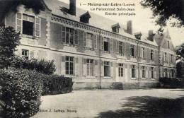 45- MEUNG-sur-LOIRE-Le Pensionnat Saint-Jean-Entrée Principale - Frankreich