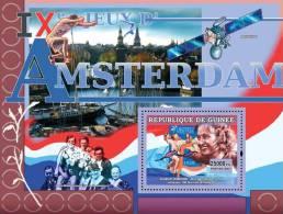 gu0708c Guinea 2007 Sports Olympic s/s Amsterdam 1928 Space