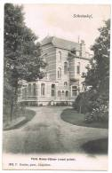 "Schooten / Schoten (Antwerpen) 1902, F. Hoelen ""Schootenhof, Villa Beau-Séjour (rond Point)."" - Schoten"