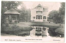 "Schooten / Schoten (Antwerpen) 1900, F. Hoelen ""Schootenhof, Villa Beau-Séjour (rond Point)."" - Schoten"