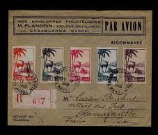 MAROC Casablanca 1948 Flora Animals Animaux Faune Fauna Sp2206 - Francobolli