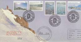 AAT 1986 Project Blizzard Souvenir Cover - Australian Antarctic Territory (AAT)