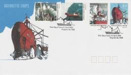 AAT 2003 Antarctic Ships FDC - Australian Antarctic Territory (AAT)