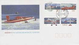 AAT 2005 Aviation In Antarctica FDC - Australian Antarctic Territory (AAT)