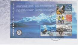 AAT 2008 International Polar Year MS  FDC - Unclassified