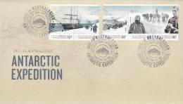 AAT 2012 Antarctic Expedition FDC - Australian Antarctic Territory (AAT)