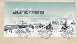 AAT 2012 Antarctic Expedition Miniature Sheet  FDC - Australian Antarctic Territory (AAT)