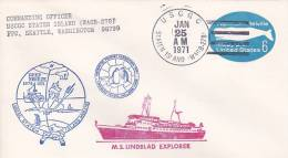 United States 1971 M.S. Lindblad Explorer, Souvenir Cover - Polar Philately