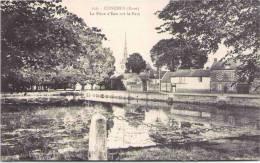 CONCHES - La Pièce D'Eau Sur Le Parc - Conches-en-Ouche