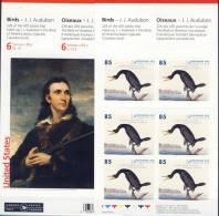#Q826. Canada 2005. Audubon. Birds. Paintings. Peintures. Gemälde. Complete Booklet. Michel MH O-313. MNH(**) - Full Booklets