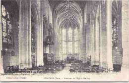 CONCHES - Intérieur De L'Eglise Sainte-Foy - Conches-en-Ouche