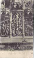 """CONCHES - Eglise Sainte-Foy - """"La Passion"""", Meuble Sculpté - Conches-en-Ouche"""