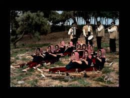 """33 - FOLKLORE - Guyenne Et Gascogne - Bassin D'Arcachon - 12 - Groupe Folklororique """"Tout Pour La Patrie"""" - France"""