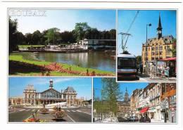 Le Nord.... (59) - Roubaix - TRAM/STRAßENBAHN - Streetscene - Multiview - France - Voitures De Tourisme