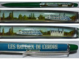 *** RARE *** ANCIEN STYLO MOBILE VEDETTE CHATEAU LES BATEAUX DE L´ERDRE PUBLICITAIRE - Pens