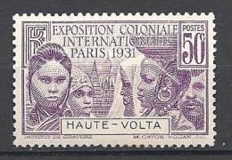 HAUT-VOLTA EXPO 1931 N� 67  NEUF * TTB