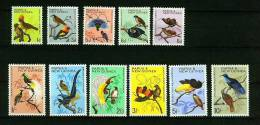 Papua New Guinea 1964/65,11V,compl Set,vogels,birds,oiseaux, Pajaros,vögel,aves, Uccelli,ptaki, MLH/Postfris M Pl(D1606) - Vogels