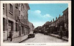 60 - CREIL - LA RUE JEAN JAURES - Creil