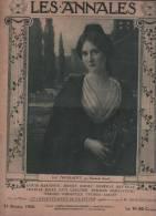 LES ANNALES 31 10 1920 - PIERRE MILLE - JEAN D'ESME - JEANNE D'ALBRET - FEMINISME JAPON - THEATRE LEON DEUTSCH - MODE - Newspapers